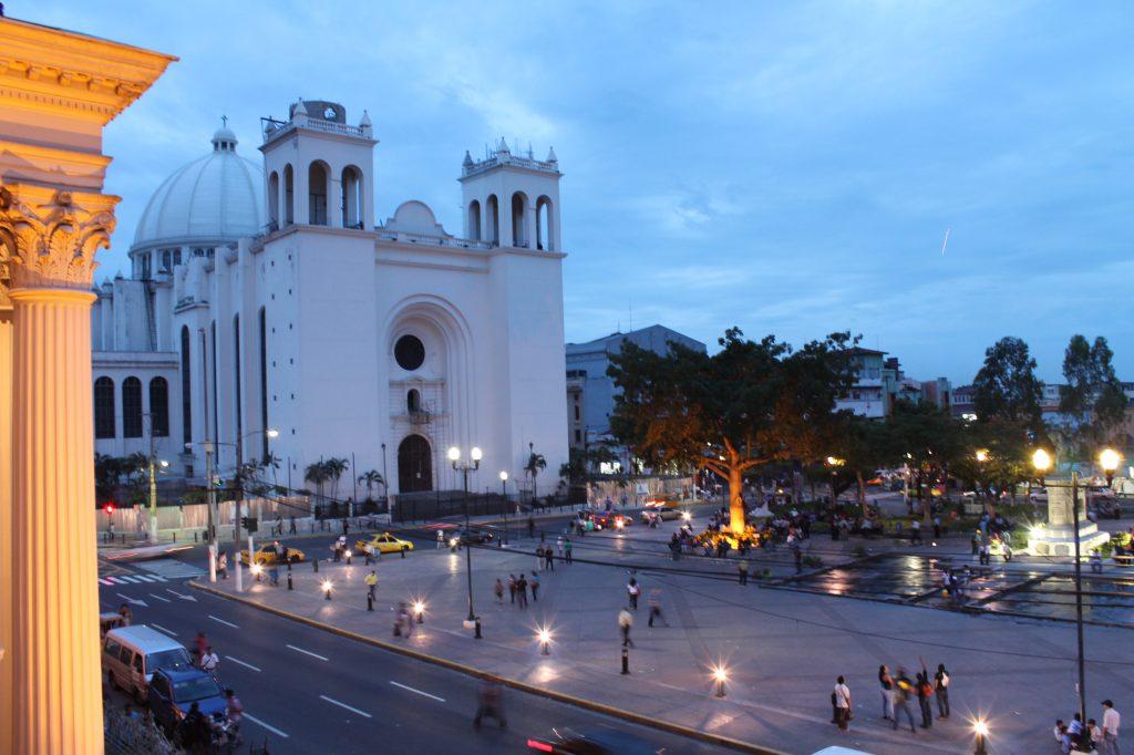 The Center of San Salvador